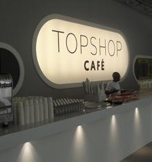 Top Shop Cafe interior