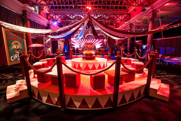 Circus theme party at Billingsgate