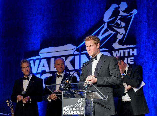 Walking With The Wounded Prince Harry