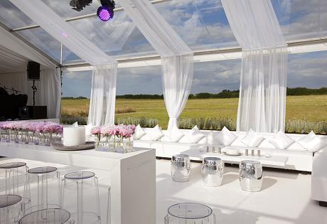 Romantic marqee wedding