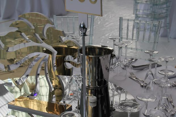Table setting for British Olympic Ball