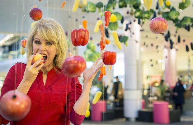 Hanging fruit with Joanna Lumley