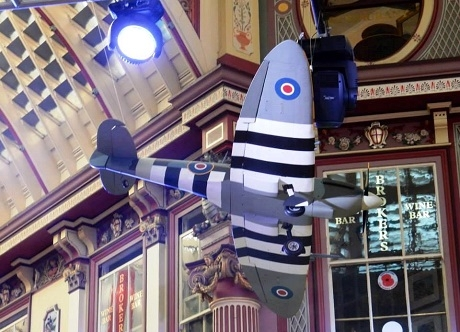 VE Day Themed Gala Dinner Leadenhall Market