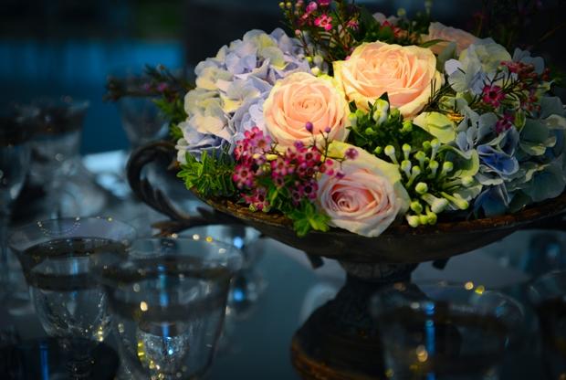 Didbden Wedding Interior - Invisible Blue