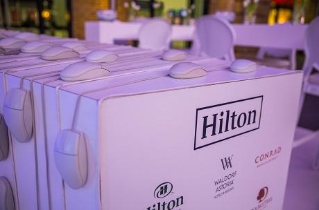 Hilton #StopClickingAround