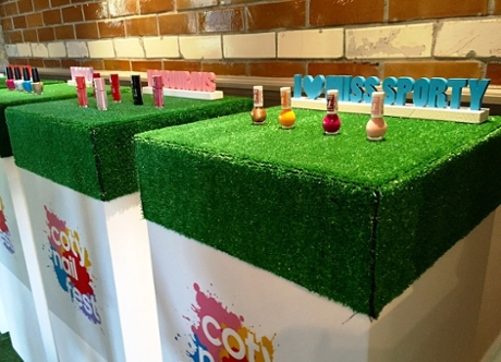 Coty Nail Fest created and designed by Invisible Blue
